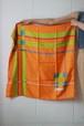 Christian Dior orange scarf