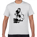 鼓を打つ芸妓 幕末 明治 舞妓・芸妓 歴史人物Tシャツ019