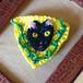 黒猫 ブローチ