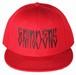 GRINDERS snap back CAP (red)