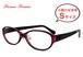 小顔の女性におすすめ メガネ レディース Sサイズ 10144-4 オーバル型 小さめ 小さい 女性向け 眼鏡 venus×2