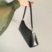 Leather wide handbag レザー ワイド ハンド バッグ