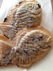 ('18年3月7日発売)天然物‼︎こしのある餅入り♪グルテンフリー♪こだわりの無農薬米粉たい焼き(つぶし餡)