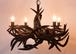 Kudu hone chandelier