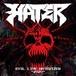 """HATER / EVIL LIVE HATERIZER""""2020"""" (CD)"""