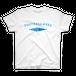 ソフトクリーマーズTシャツ ホワイト地×水色文字