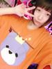 王冠くまさんTシャツ/JUNGLE BUS