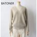 BATONER /バトナー・Cashmer Fox V-Neck