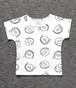 "【送料無料 】T-shirs for kids ""Faces"""