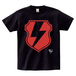 avenomix / THUNDER EMBLEM T-SHIRT BLACK x RED