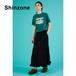 THE SHINZONE/シンゾーン・バックサテンスカート