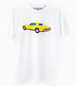 """JEAN-PHILIPPE DELHOMME - LOS ANGELES LANGUAGE - """"YELLOW MUSTANG 2"""" T-SHIRT"""