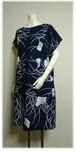 135 銀杏の浴衣リメイクサックドレス