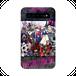 #016-006 ロック&キュート  モバイルバッテリー《ブレーメン~オリジナルキャラクター~》パターン2 iphone スマホ 充電器 作:nero