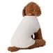 【送料無料】 犬服(ドッグウェア) ペット服 ふわふわニット ベスト シンプル無地 アイボリー