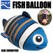 WSP フィッシュバルーン ブルーニモ ビーチボール・浮き輪などの水遊びに!
