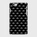 (通販限定)【送料無料】iPhone6/6s_スマホケース モノグラム_ブラック