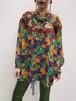Diane freis multi color floral × leaf × animal print tops ( ダイアン フレイス 花柄 リーフ柄 アニマル柄 トップス