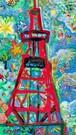 TV tower 「red junglegym」
