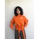 oneoff remeke / west tie sweat top / orange