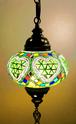 ライムプリンセス ペンダント型 魔法のランプ 天井吊り下げ ランプ ライト 照明 芸術 モザイク