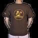 ジープ島オリジナルTシャツ ジープマーク茶