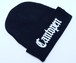 2018 RAKUGAKI Cantopen Logo Knit Cap Black x White