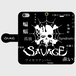 SAVAGE 手帳型iPhoneケース
