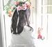 G0447) 花冠とリストレットのセット (プリザーブドフラワー)