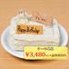 ワンちゃん用特製バースデーケーキ