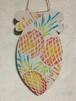 ミニアートボード『パイナップル』ステンシル