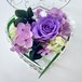 Fran flower★高級プリザーブドローズ「Violet heart」