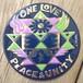 One Love Peace & Unity (Metal Sticker)
