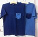 1-point needle & pocket DENIM Tee