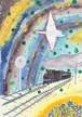 ポストカード「銀河鉄道 白鳥座停車」
