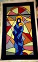 タペサリア下絵済刺繍布_Nossa Senhora Vitral