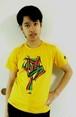 バングラデシュ 子供Tシャツ 7A ペンギン(男女兼用)