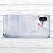 #065-007 iPhoneケース スマホケース iPhoneX 綺麗 おしゃれ Xperia iPhone5/6/6s/7/8 かわいい ノスタルジー ARROWS AQUOS タイトル:斑雪 作:アナ