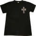 GUNS'N'ROSES CROSS TEE - BLACK