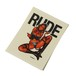 """RUDE DEVIL STICKER <ART WORK by Rockin' Jelly Bean>"" / RUDE GALLERY"