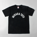 MIHARAアーチTシャツblack×white