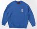 FUNKA CREW NECK ROYAL BLUE/WHITE