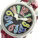 ガガミラノ GAGA MILANO マニュアーレ MANUALE 40mm 腕時計 クオーツ メンズ レディース 5020.2 ブラック レッド ブラック