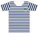 SUPER BORDER Tシャツ【ネイビー】