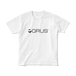 GRUS(グルス) ロゴTシャツ