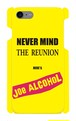 【受注生産】iPhone7 対応「 NEVER MIND THE REUNION HERE'S JOE ALCOHOL」イエロー iPhoneケース