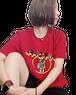 【SKANDHAL】CERCHIO Tシャツ 【ボルドー】【新作】イタリアンウェア【送料無料】《M&W》