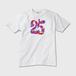 【送料無料】25周年記念!!あなたたちはずっと日本を代表するアイドルです!!ずっと応援します!!かわいいTシャツ ※トナー熱転写