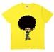 【買って応援A】源田イラストTシャツ イエロー