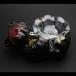 木彫りの熊 灰皿 (507)